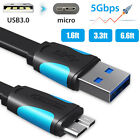 USB 3.0 to Micro 3.0 Cable For WD Toshiba Samsung External Hard Disk Drive HDD
