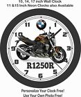 2019 BMW R1250R MOTORCYCLE WALL CLOCK-TRIUMPH, APRILIA, HONDA, SUZUKI $28.99 USD on eBay