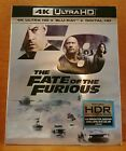 The Fate of the Furious Fast and Furious 8 (4K Ultra HD Blu-ray, Digital Copy)