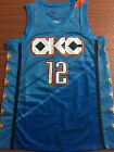 New Season Oklahoma City Thunder 12 Steven Adams City Edition Basketball Jersey