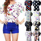 Women Tank Tops Blouse Plus Size Summer Tunic T shirt Loose Casual Print Fashion