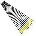 Steel Target Tip Fibreglass Arrows Archery Bow Arrows 3-Size Recurve Archery