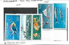 COLOMBIA Sc 760-1,C481-3 NH issue of 1966 - SEA LIFE