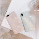 Soft Silicone Marble TPU Phone Case Cover For iPhone 7/8/6s plus/X