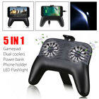 PUBG Game Controller Mobile Phone Joystick Cooling Fan Gamepad for IOS Android
