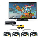 For Nintend Switch/Wii U /PC 3in1 4Port USB for Gamecub NGC Controller Adapter A