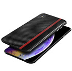 Black Ultra Slim Fit Soft TPU Cover Case For Apple iPhone Xs Max XR X 7 8 Plus