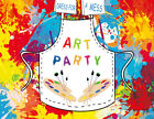 Art Party Palette Pigment Graffiti Photography Backdrop Photo Background Vinyl