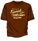 """""""Introducing The New"""" Triumph Spitfire Retro T-Shirt. $15.71 USD on eBay"""