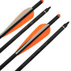 New Hybrid Carbon Arrows Crossbow Bolts for Archery Bow Hunting Shooting 6/12pcs
