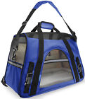 Cat & Dog Pet Carrier Airline Approved Soft Travel Carriers Small and Medium Pet