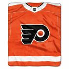 """Flyers OFFICIAL National Hockey League, """"Jersey"""" 50""""x 60"""" Raschel Throw  by The $36.71 USD on eBay"""
