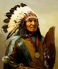reproduction image 8 x10 Native American He Dog Lakota image