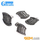 Rivet Beads Arch Bridge-shaped Earrings Pendant Ring Jewelry Sets with Gift Box