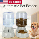 3.8 Automatic Bowl Water Drinker Dispenser Fountain Pet Dogs Cat Puppy Feeder