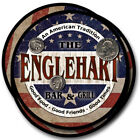 Englehart Family Name Drink Coasters - 4pcs - Wine Beer Coffee & Bar Designs
