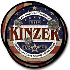 Kinzer Family Name Drink Coasters - 4pcs - Wine Beer Coffee & Bar Designs