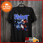 2001 Slipknot Lowa Rare T-Shirt Band Shirt Made In USA Limited Tee Cotton Black image