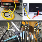 Внешний вид - 8/10/12/14/16mm Flexible Spiral Wire Wrap Home Desktop PC Manage Cable Cords 2M