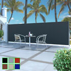 Garden Terrace Retractable Side Awning Automatic Patio Privacy Roll-back balcony