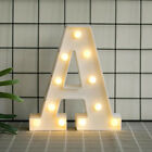Alphabet Led Letter Lights Light Up White Plastic Letters Numbers Standing A-z &