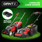 Giantz Cordless Lawn Mower Electric Lithium Battery Powered Push Lawnmower