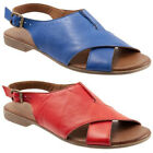 Women's  Casual Retro  Sandals Summer Peep Toe Fish Mouth Beach Buckle Shoes