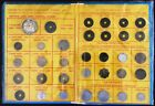 Indo-China, Annam, Vietnam Coin collection Including 1896 Silver Piastre, SCARCE