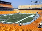 2 PITTSBURGH STEELERS TICKETS vs INDIANAPOLIS COLTS - HEINZ FIELD 11/3 - LOWERS
