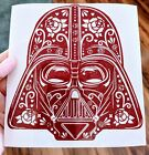 Star Wars Inspired Darth Vader Helmet Sugar Skull Vinyl Decal for Car, Home, Ele $5.5 USD on eBay