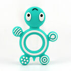 Baby Silicone Teether Bracelet Teething Toy Tortoise Chew Bead Pacifier Chain