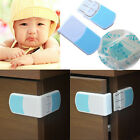 1/2/4X Kid Baby Cupboard Cabinet Door Right Angle Safety Drawer Lock Latches ty