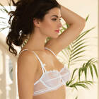 LISE CHARMEL AFFINITE COUTURE SOUTIEN GORGE CORBEILLE ACG3011 BLANC NEUF