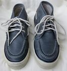 Men's Sperry Topsider Boat Shoes  7 Medium 4 Eye Grey Leather CLOSE OUT PRICING!