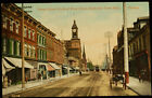 Antique Postcard of Yonge St. North of Bloor St. Yorkville Town Hall Toronto