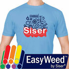 "Siser EasyWeed  HTV Heat Transfer Vinyl for T-Shirts 12"" by the Yard Rolls"