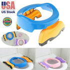 Baby Multifunctional Potty Portable Chair Toilet Seat Kids Folding Travel Stool image