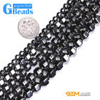 """Black Magnetic Hematite Column Pointy Beads For Jewelry Making Free Shipping 15"""""""