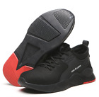 Mens Safety Shoes Mesh Shoes Steel Toe Cap Work Protective trainers Hiking Shoe