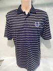 41205 Mens INDIANAPOLIS COLTS DRI FIT Performance STRIPED POLO Shirt BLACK on eBay