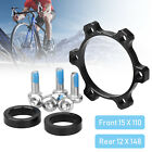 Front Rear Hub Adapter Thru Axle to 15*110 to 12*148 Boost Fork Conversion Kit