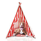 StoreInventorytepee dog and cat pet play or bed house for indoor and outdoor gift pet cushion