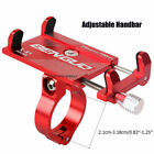 US Aluminum Motorcycle Bike Bicycle Holder Mount Handlebar For Cell Phone GPS