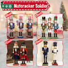 Handmade Christmas Ornaments Wooden Nutcracker Home Decor Soldier Doll