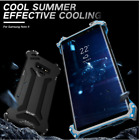 R-just Shockproof Armor Dust Metal Case Cover for Samsung Galaxy Note 9/8 S10/S8