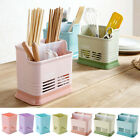 Plastic Kitchen Utensil Cutlery Rack Holder Chopsticks Spoon Sink Drying Rack