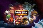 ANGRY BIRDS POSTER ~ STAR WARS II CIRCLE CAST 22x34 iPHONE APP Video Game Movie