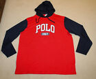 NEW Polo Ralph Lauren Big and Tall POLO Logo Hoodie T Shirt