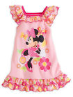 Disney Store Girls Minnie Mouse Clubhouse Short Sleeve Nightshirt, Pink