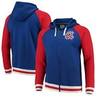 Atlanta Braves Fanatics Branded True Classics Stripe Full-Zip Fleece Hoodie - on Ebay